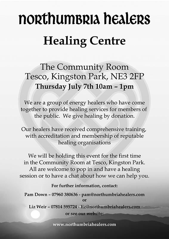 133-A5-Tesco Healing Centre-LOW RES-Flyer (single-sided)